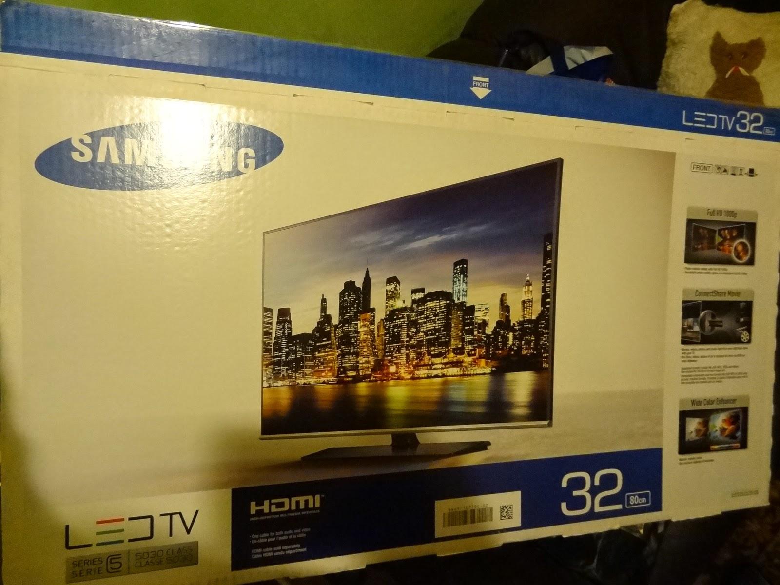 Samsung UE-32H5030 packaging