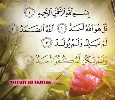 Subhanallah!! Dahsyatnya Surah Al Ikhlas Yang Tertulis Di Sayap Malaikat
