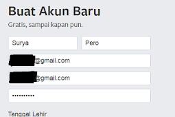 Cara Membuat Akun Facebook Terbaru