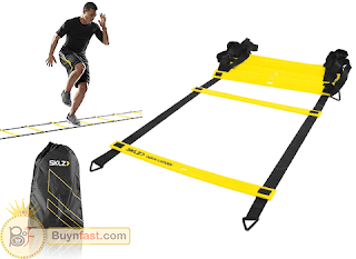 """EXCLUSIVE"" Flat Rung Agility Ladder & Free Carry Bag by SKLZ"