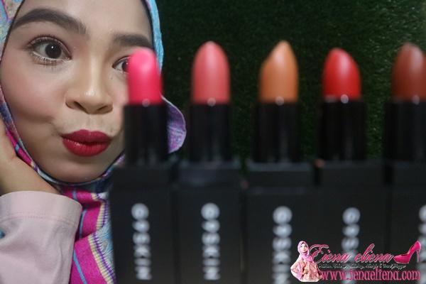 Gincu Serbaguna 3 in 1 | Lip stick , Shading & Blusher | G9SKIN FIRST LIP STICK