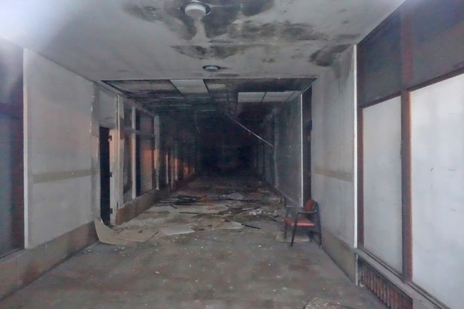 Abandoned Warden Plaza Hotel in Fort Dodge Iowa