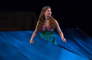 Franklin's Madi Asgeirsson performs as Ariel