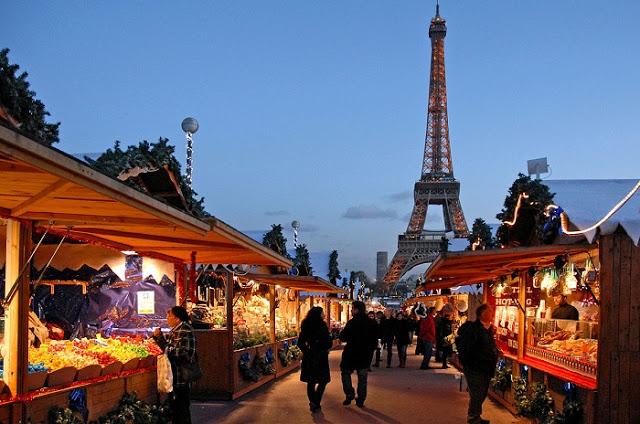Mercado de Natal de Paris