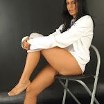 Andrea Rincon, Selena Spice Galeria 19: Buso Blanco y Jean Negro, Estilo Rapero Foto 107