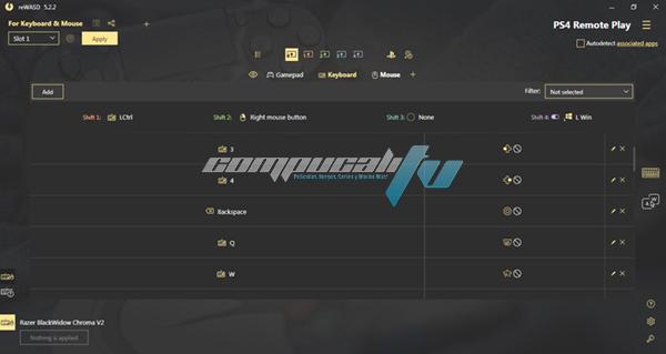reWASD Versión 5.2.2.1757 Full [Configura tu Mando/Control]