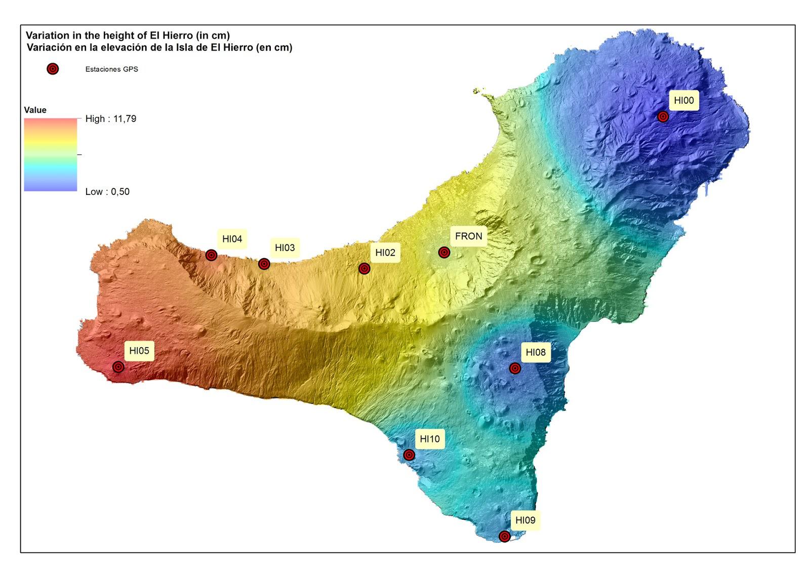 LA GOMERA ISLAND Canary Islands El Hierro Renewed earthquake