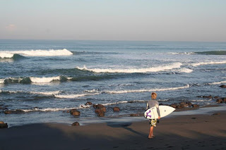 Beautiful Canggu Beach in Bali, Great Place for Surfing