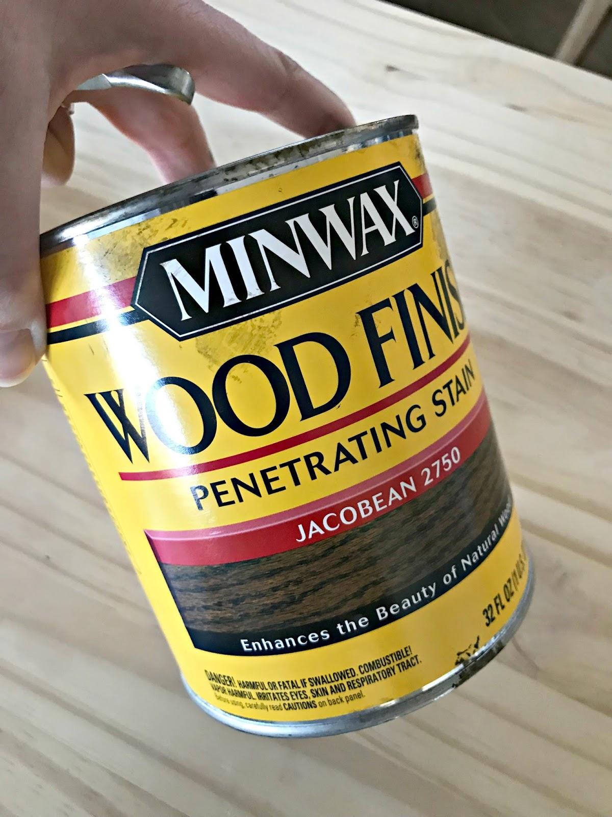 Jacobean stain Minwax