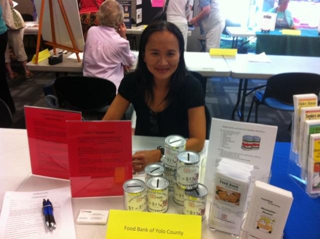 Yolo County Food Bank Volunteer