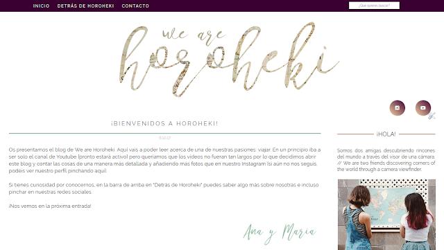blog we are horoheki