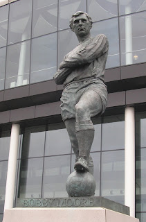 Bobby Moore - Former England team captain