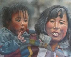 des fortes dents blanches comme les tibétains