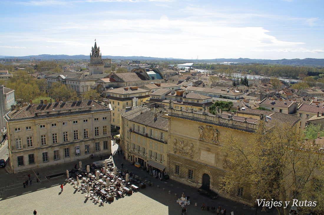 Place du palais, Avignon