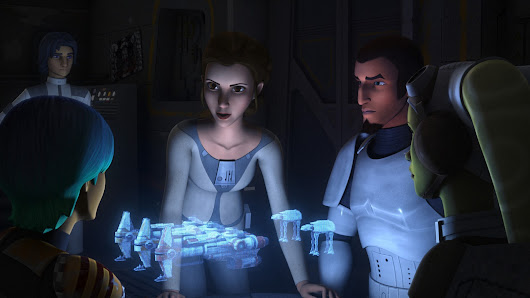 "Star Wars Rebels review: ""A Princess on Lothal"" 