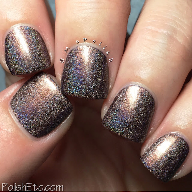 Nine Zero Lacquer - Men of Letters Collection - McPolish - Moose