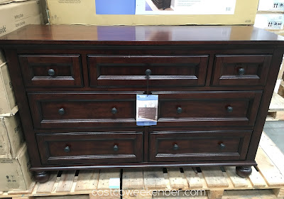 Get yourself organized with the Bayside Furnishings Dresser
