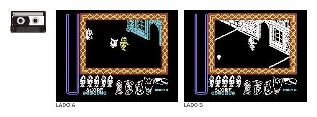 C64 Nightshade lado A y B