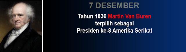 Foto Presiden Martin Van Buren