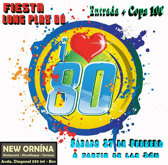 Flyer Fiesta I Love 80