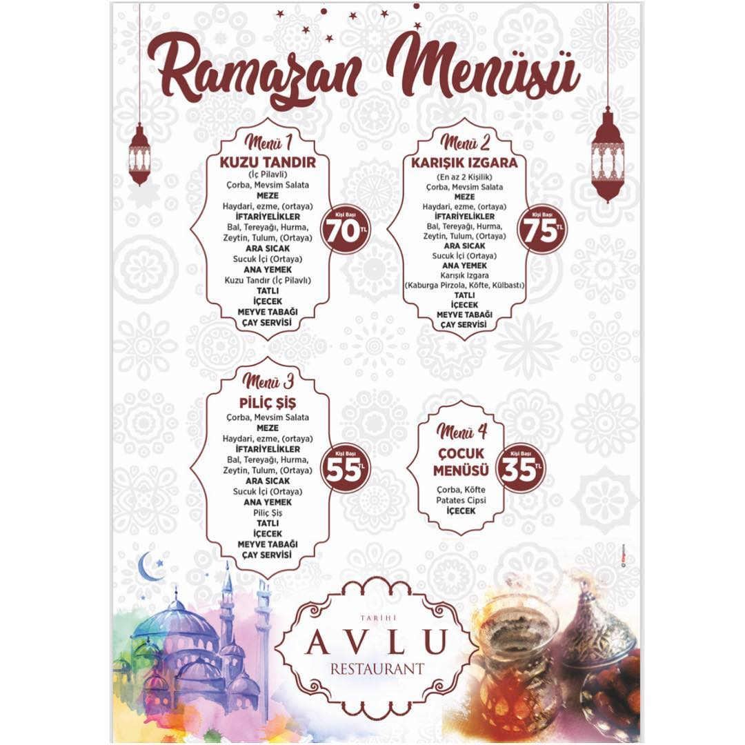 eski kayseri evleri restaurant avlu restaurant iftar menüsü kayseri ramazan menüleri