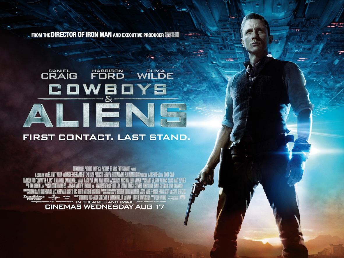 Cowboys And Aliens: A Movie Review | The First Gates