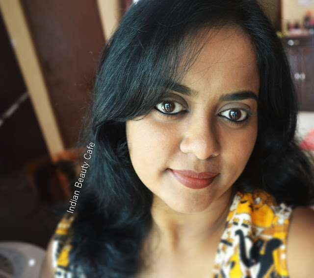 Lakme 9 to 5 Weightless Matte Mousse Lip and Cheek Color Cocoa Soft LOTD
