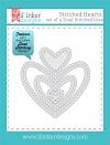 Lil Inker Stitched Hearts dies