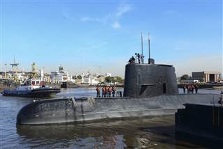 Signals detected likely from missing submarine: Argentina