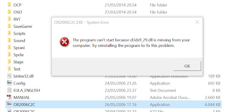 Cara mengatasi file DLL missing setelah install game