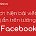 Cách hiện bài viết đã bị ẩn trên dòng thời gian ở Facebook