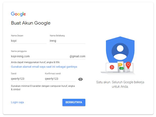 Daftar Gmail dan Buat Akun Email Gmail Baru, 1 Nomor Hp Banyak Email