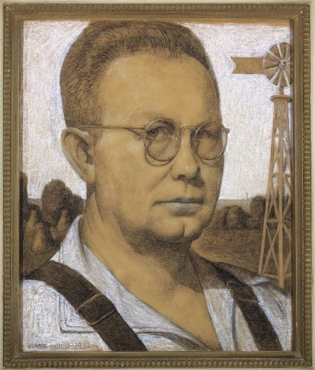 analysis of american gothic painted by grant wood essay Grant wood, (born february 13, 1891, near anamosa, iowa, us—died february   the meaning of american gothic has been subjected to scrutiny since wood.