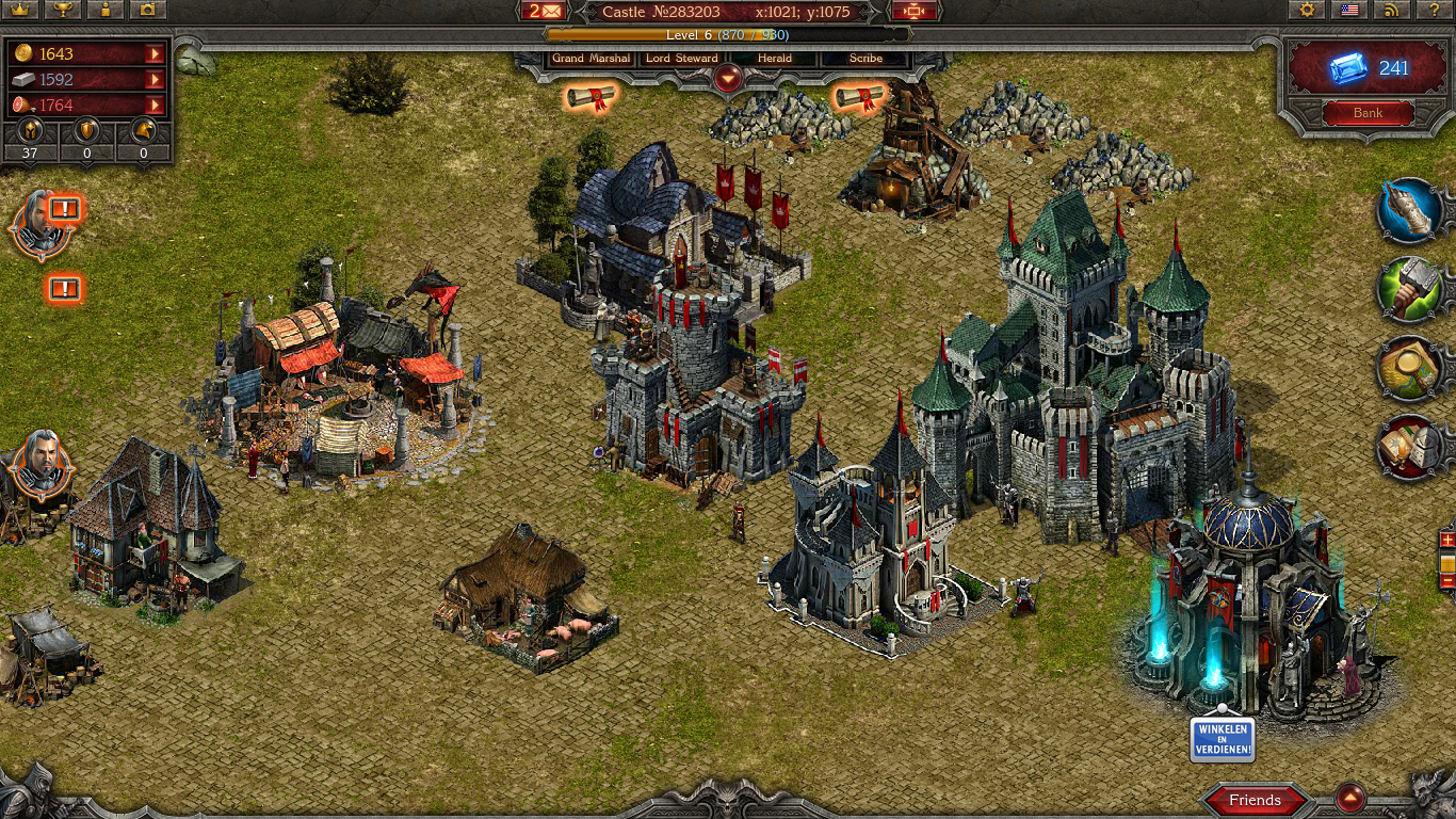 Android and Facebook game reviews: Stormfall: Age of War Facebook game app review
