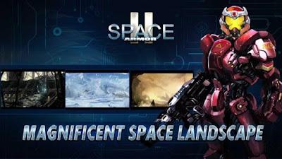 Download Game Mod Space Armor 2 MOD APK (Unlimited money) v1.2.2 Offline