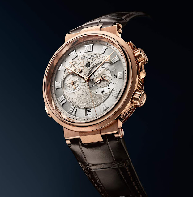 Breguet Marine Alarme Musicale 5547 in red gold