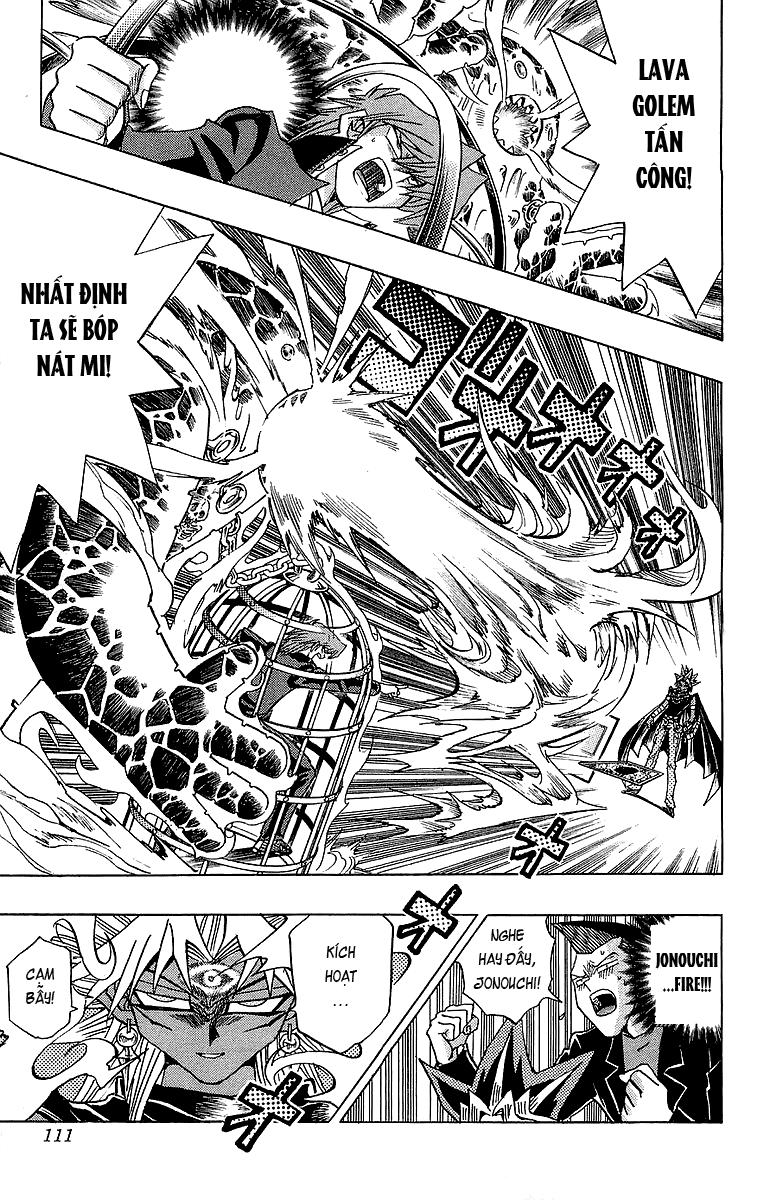 YUGI-OH! chap 247 - đòn phản công chớp nhoáng trang 8
