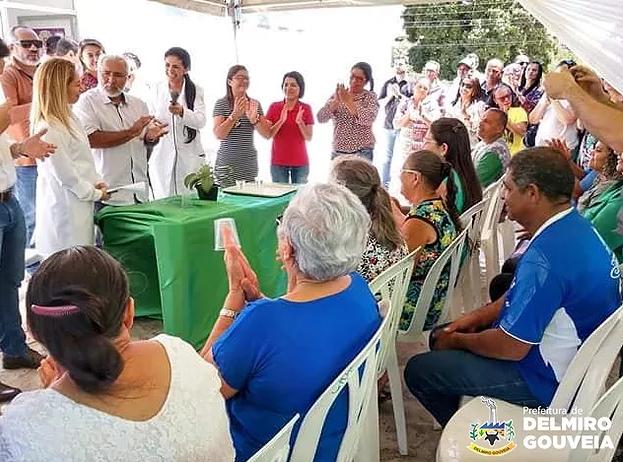 População de Delmiro Gouveia comemora entrega do Posto de Saúde do bairro Cohab Nova