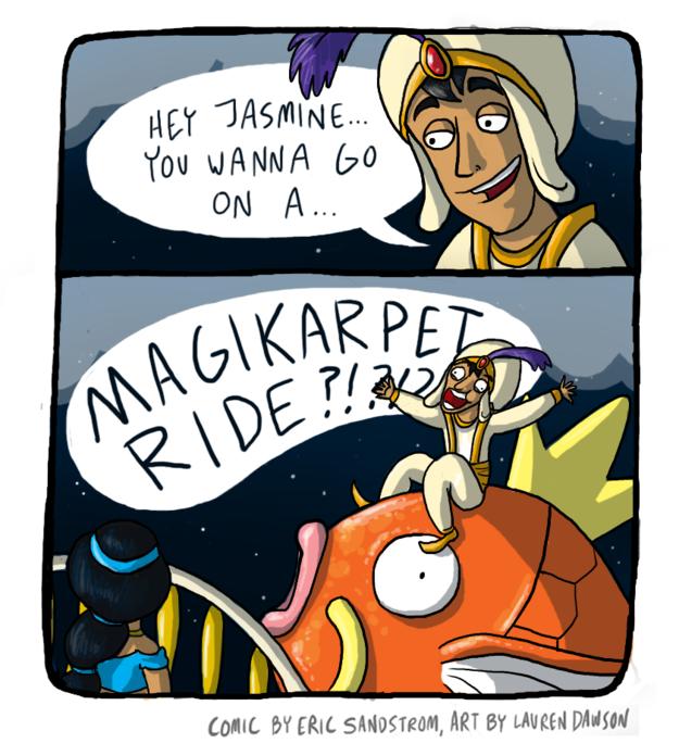 This Aladdin mashup.