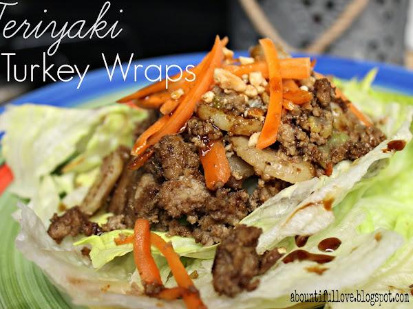 Teriyaki Turkey Wraps