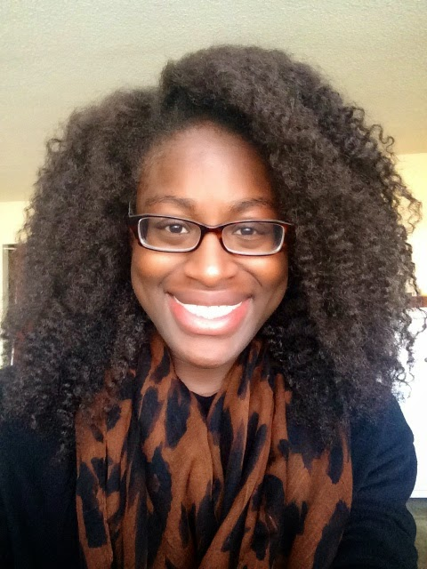 natural hair braid out
