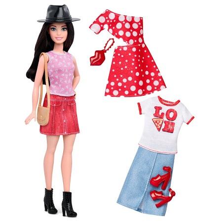Roupas e sapatos das novas Barbie Fashionistas Coleção 2016 Barbie fashionista baixa (petite)