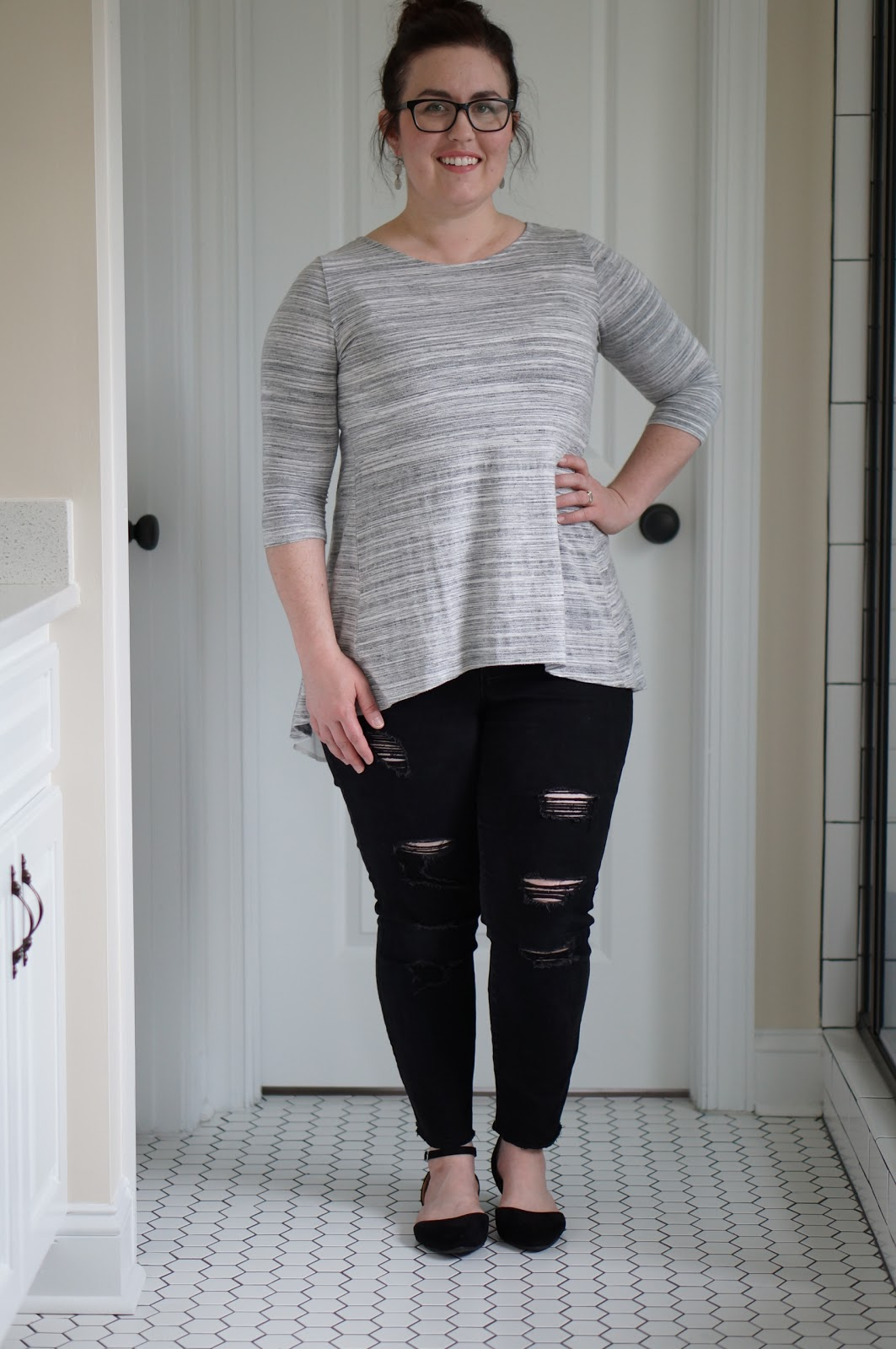 BLACK & GRAY | FALL FASHION by North Carolina fashion blogger Rebecca Lately
