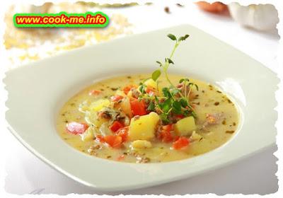 Simple potato soup (dietary)