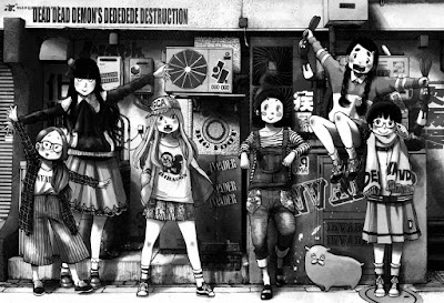 "Reseña de ""DEAD DEAD DEMONS DEDEDEDE DESTRUCTION #4"" de Inio Asano [Norma Editorial]"