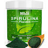 MAJU's Spirulina Powder: Purest California Grown, Non-GMO, Non-Irradiated, Pesticide and Herbicide Free, Vegan and Gluten Free Super Micro-Algae