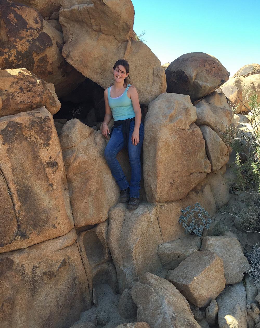rock climbing bouldering hiking Anza Borrego Desert San Diego