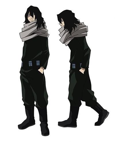 ไอซาวะ โชตะ (Aizawa Shouta: あいざわしょうた) @ My Hero Academia: Boku no Hero Academia มายฮีโร่ อคาเดเมีย