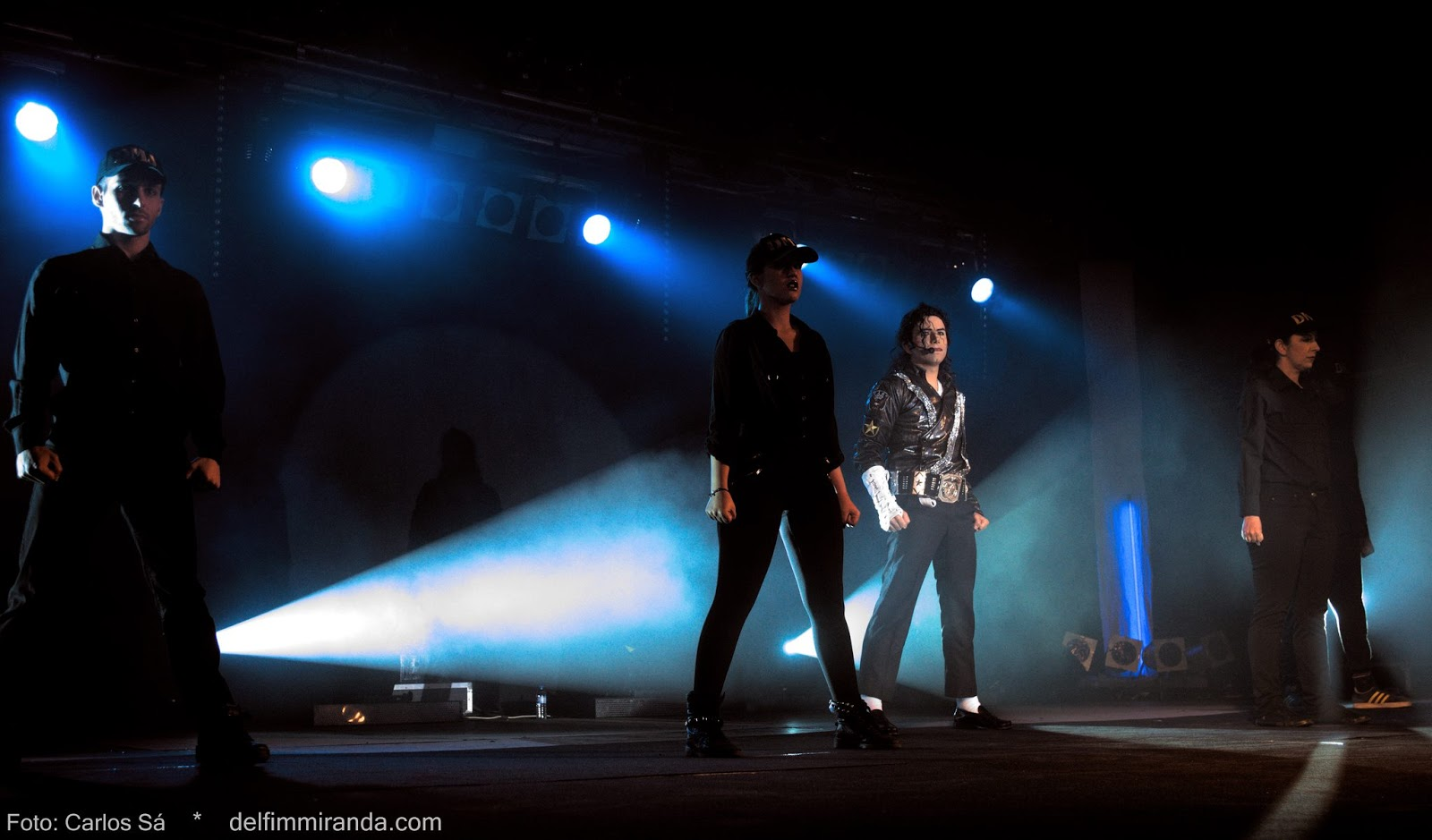 Delfim Miranda - Michael Jackson Tribute - Jam - Stage side view