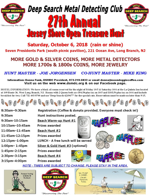 Deep Search Metal Detecting Club: Our 27th Open Treasure